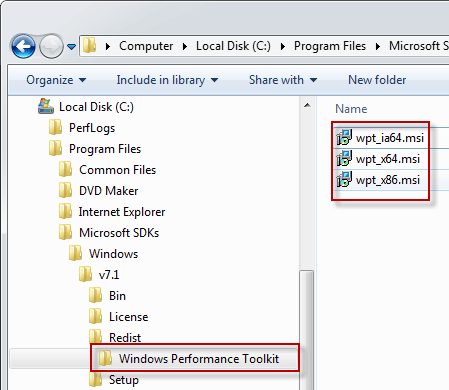 Windows Performance Toolkit: Installation - AutoIt Consulting