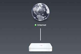 Configuring an AirPort Extreme for NAT Only Mode