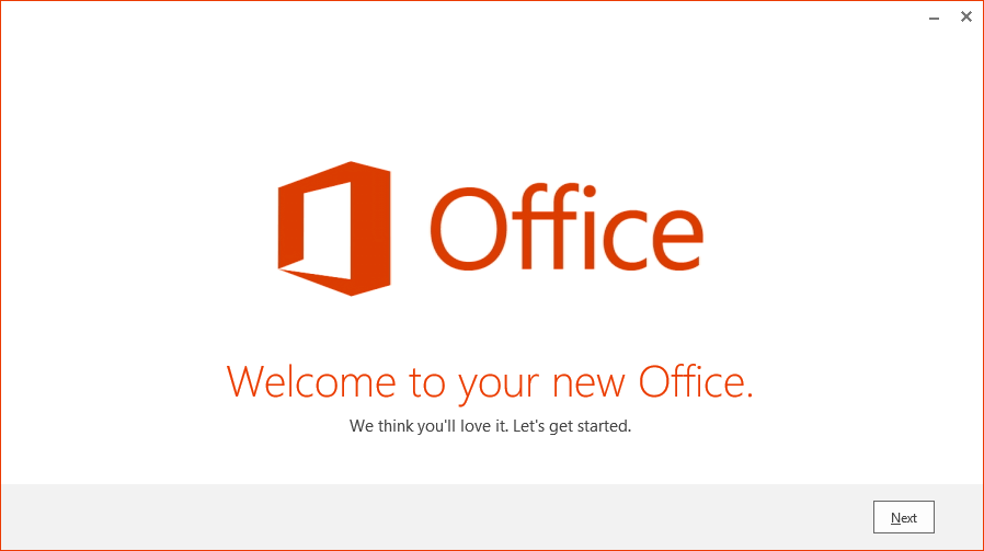 Office Welcome