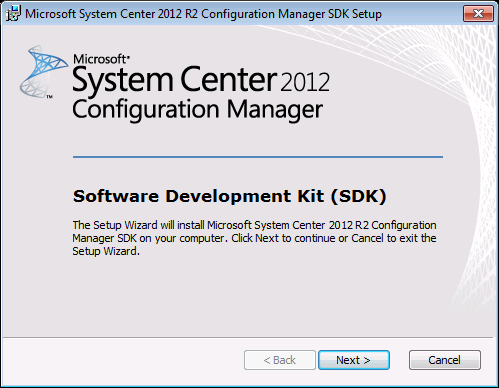 Configuring Visual Studio to use SCCM Assemblies
